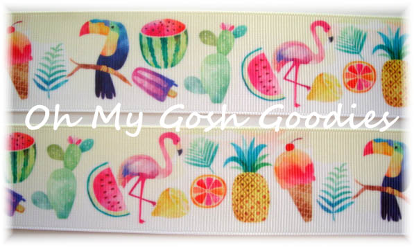 1.5 PARADISE PUNCH TOUCAN FLAMINGO - 5 YARDS