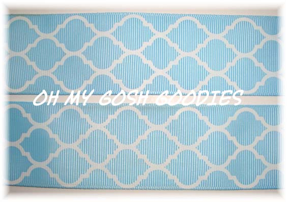 2 1/4 QUATREFOIL BLUE- 5 YARDS