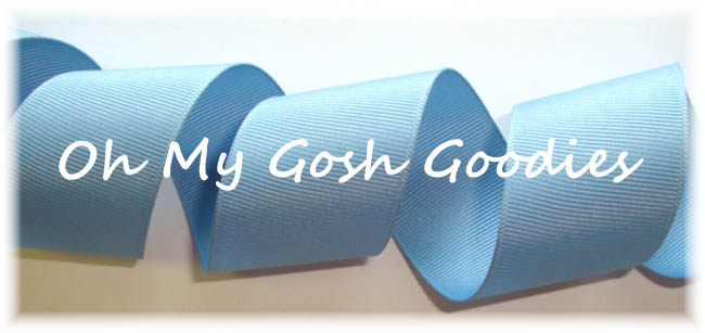 "5/8"" OFFRAY SOLID FRENCH BLUE - 5 YARDS"