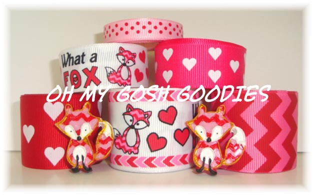 VALENTINE WHAT A FOX RIBBON MIX