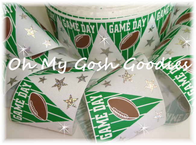 "3"" GAME DAY FOOTBALL FLAGS HOLOGRAM - 5 YARDS"