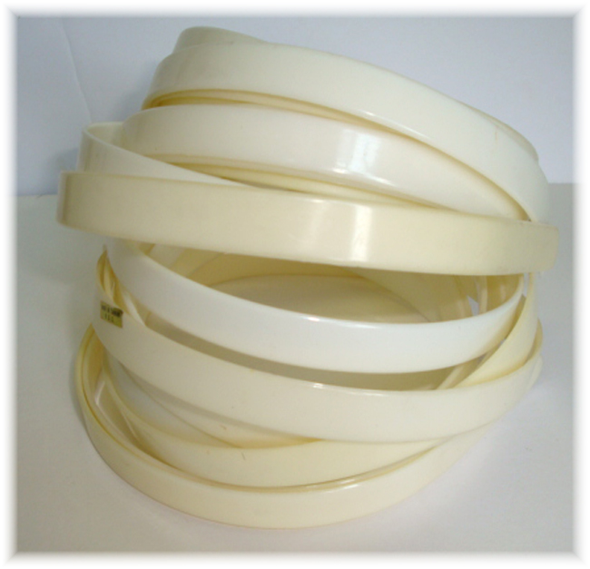 "1/2"" PLASTIC HEADBAND BLANKS - 6 PIECE"