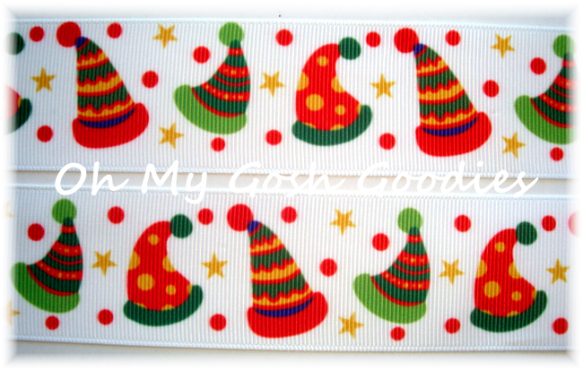1.5 PRIMARY CHRISTMAS HATS - 5 YARDS
