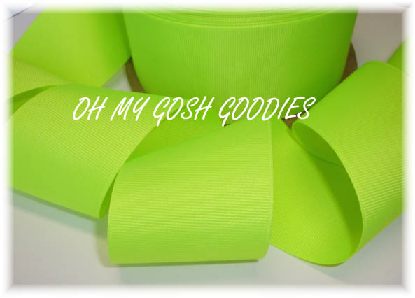 2 1/4 NEON FLUORESCENT YELLOW - 5 YARDS