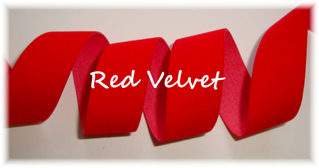 7/8 * HOLIDAY *  RED VELVET - 5 YARDS