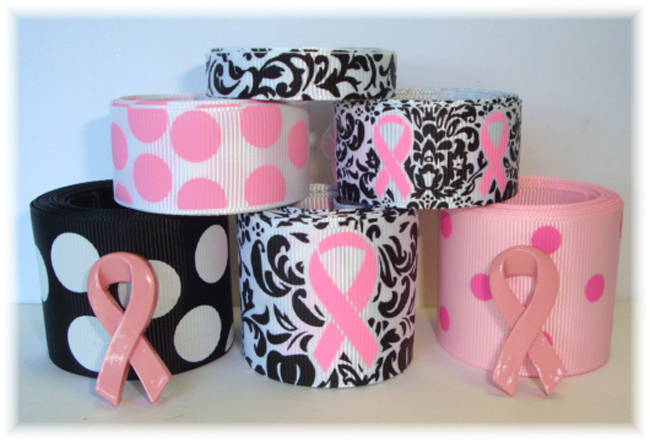 BREAST CANCER DAMASK AWARENESS MIX