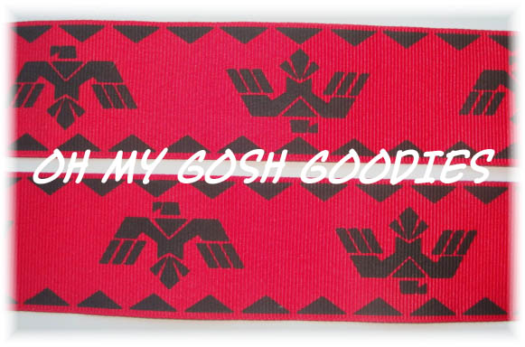 1.5 AZTEC EAGLE RED - 5 YARDS