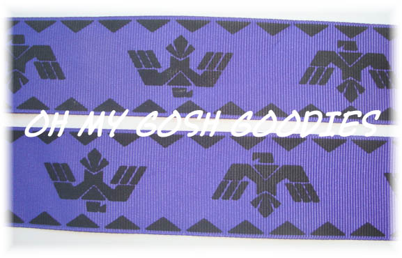1.5 AZTEC EAGLE PURPLE - 5 YARDS