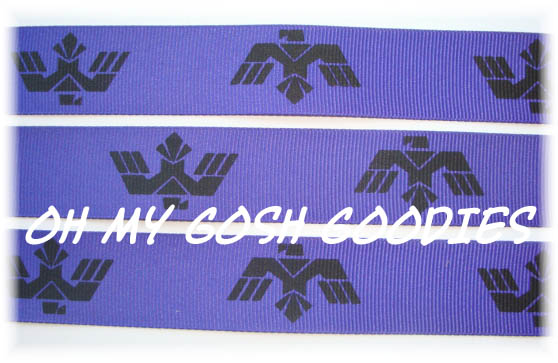 7/8 AZTEC EAGLE PURPLE - 5 YARDS
