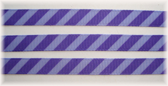 3/8 OOAK PURPLE BLACK DIAGONAL VENUS STRIPE - 20 YARDS