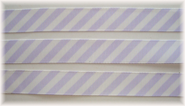 5/8 OOAK ORCHID WHITE DIAGONAL VENUS STRIPE - 20 YARDS