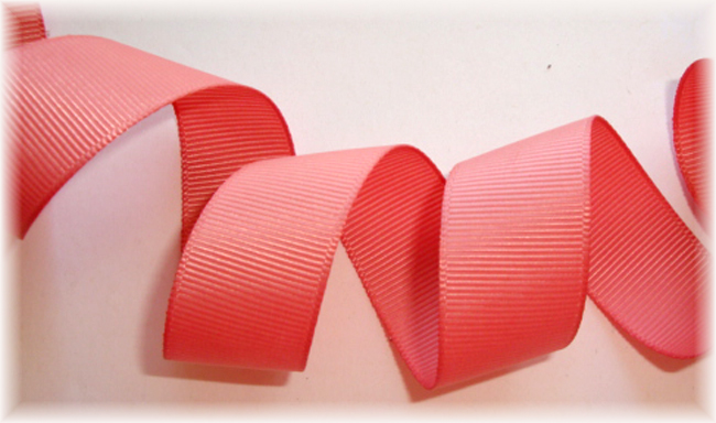 """7/8"""" SOLID OFFRAY DUSTY ROSE  - 5 YARDS"""