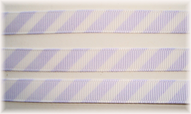3/8 OOAK ORCHID WHITE DIAGONAL VENUS STRIPE - 20 YARDS