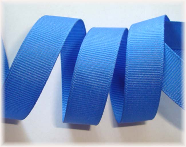 "3"" CAPRI BLUE SOLID GROSGRAIN - 5 YARDS"