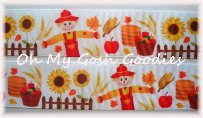 1.5 SCARECROWS & SUNFLOWERS - 5 YARDS