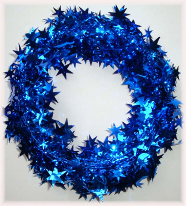 ROYAL WIRED DELUXE STAR GARLAND - 25 FEET