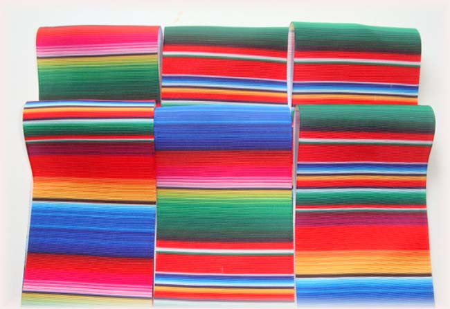 "OOAK SE55 GOODY BAG 3"" SERAPE TICK TOCK REMNANTS - 5 YARDS"