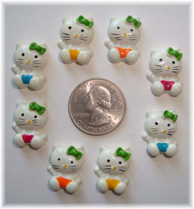 12PC MINI KITTY RESINS