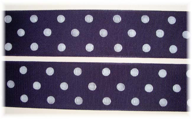 1.5 SALE NAVY DOTS - 5 YARDS