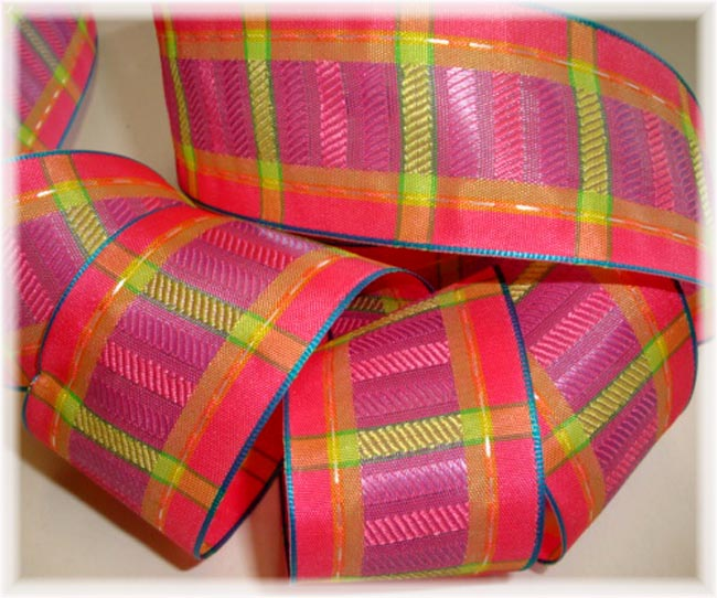 1.5 OOAK WIRED SPRING PLAID CHECK - 3 YARDS
