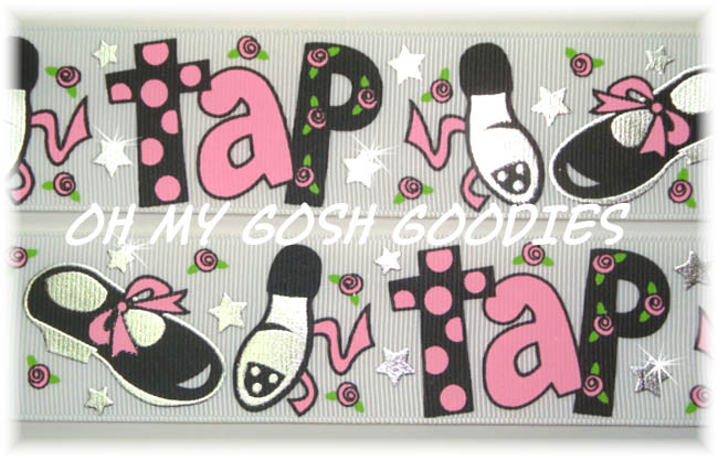 1.5 TAP DANCE PRINCESS BLING - 5 YARDS