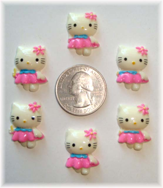 2PC ITTY BITTY KITTY RESINS