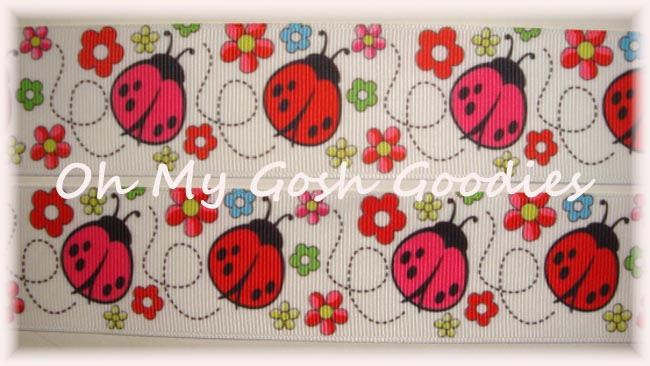 1.5 FLOWERS & LADYBUGS - 5 YARDS