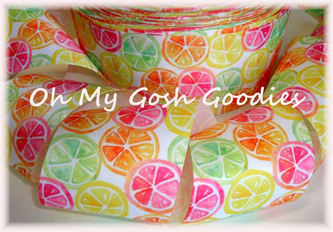 "3"" CITRUS SLICE SURPRISE - 5 YARDS"