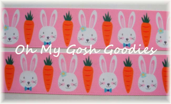 1.5 EASTER CARROTS & BUNNIES - 5 YARDS