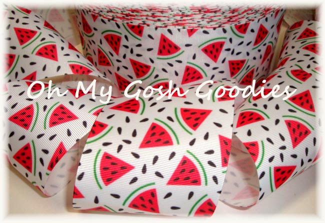 3 WATERMELON PICNIC - 5 YARDS