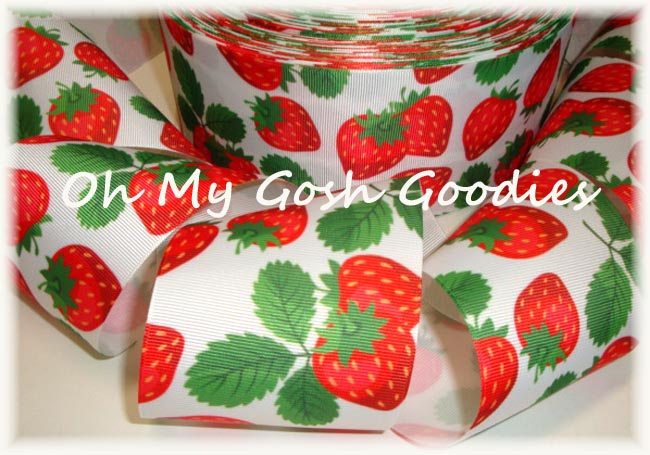 "3"" STRAWBERRY PATCH - 5 YARDS"