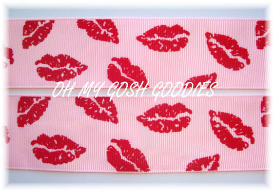 1.5 CLASSIC SMOOCHIE LIPS PINK - 5 YARDS