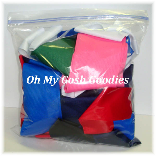 "ONE GALLON GOODY BAG - 1.5"", 2 1/4"" and 3"" SOLIDS"