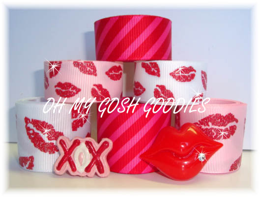 GLITTER LIPS RIBBON MIX