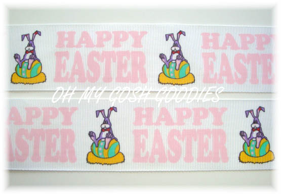 1.5 * BUNNY * HAPPY EASTER - 5 YARDS