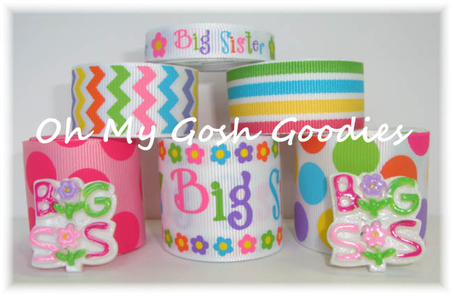 BIG SISTER FLOWER RIBBON MIX