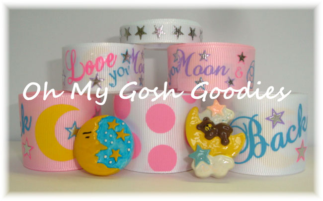 LOVE YOU to the MOON & BACK RIBBON MIX