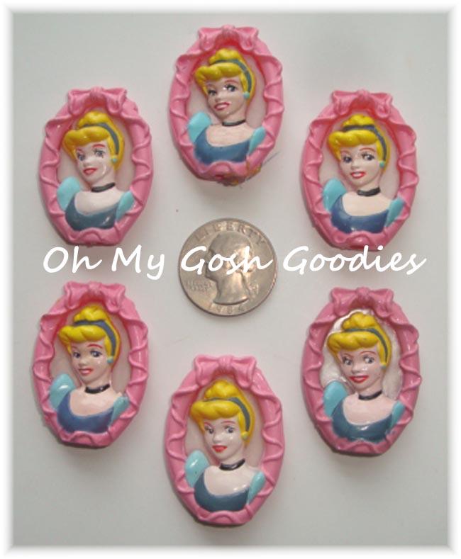 2PC LICENSED CINDERELLA EMBELLISHMENTS - LIMITED QUANTITY