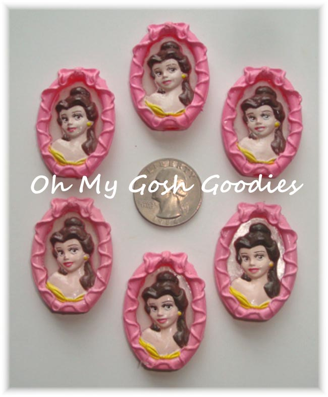 2PC LICENSED BELLE EMBELLISHMENTS - LIMITED QUANTITY