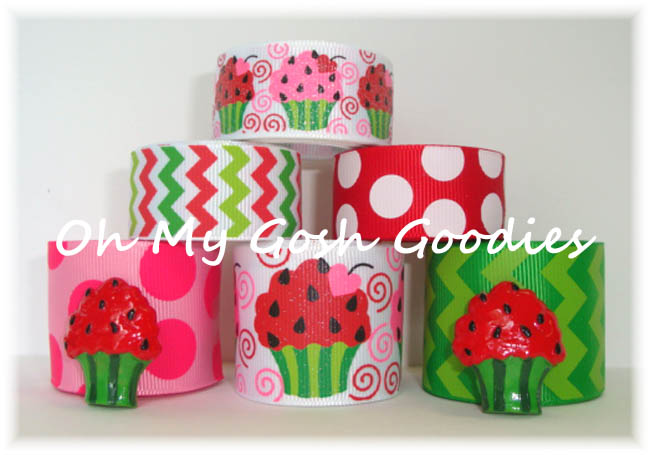 WATERMELON CUPCAKE RIBBON MIX