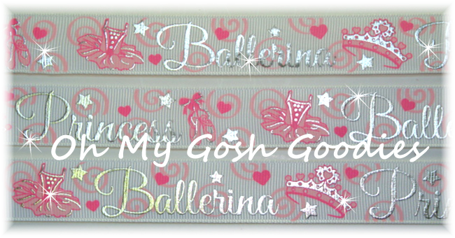 7/8 SWIRL BLING BALLERINA PRINCESS - 5 YARDS