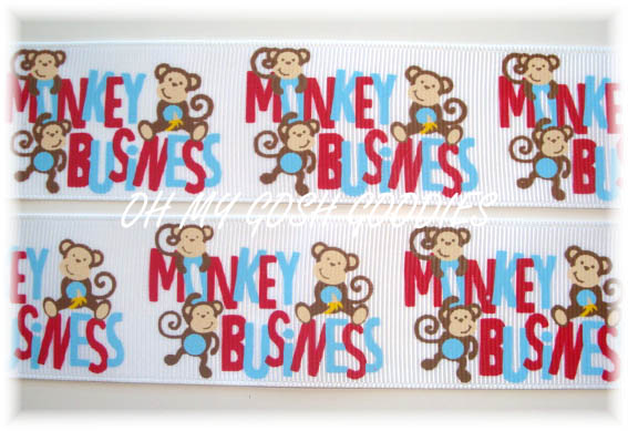1.5 SPUNKY MONKEY BUSINESS WHITE - 5 YARDS