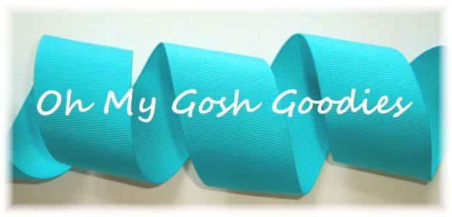 "3"" - 2 1/4"" - 1.5"" SOLID CHEER RIBBON TEAL JADE - 5 YARDS"