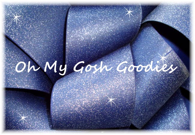 "3"" OOAK IRREGULAR GLITTER SOLID CHEER NAVY - 5 YARDS"