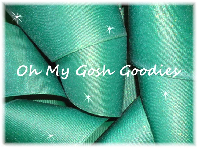 """3"""" OOAK GLITTER SOLID CHEER FOREST - 2 1/2 YARDS"""