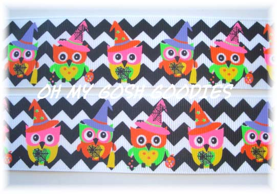 1.5 HAUNTED HOOTS HALLOWEEN OWLS - 5 YARDS