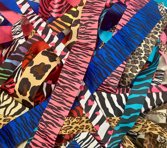 ONE OF A KIND GOODY BAG ZEBRA / LEOPARD - 50+ YARDS