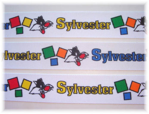 7/8 LICENSED SYLVESTER LOONEY TUNES - 5 YARDS