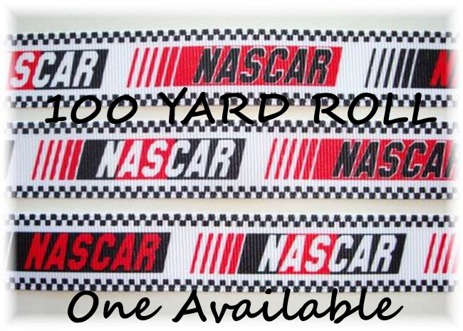 7/8 OOAK NASCAR RACE FLAGS - 100 YARD ROLL