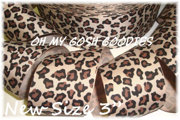 "3"" NATURAL SAFARI LEOPARD  - 5 YARDS"